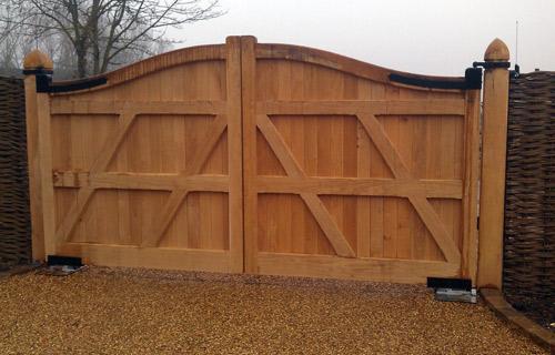 Automatic Gate Installation in Suffolk, Essex, Cambridge